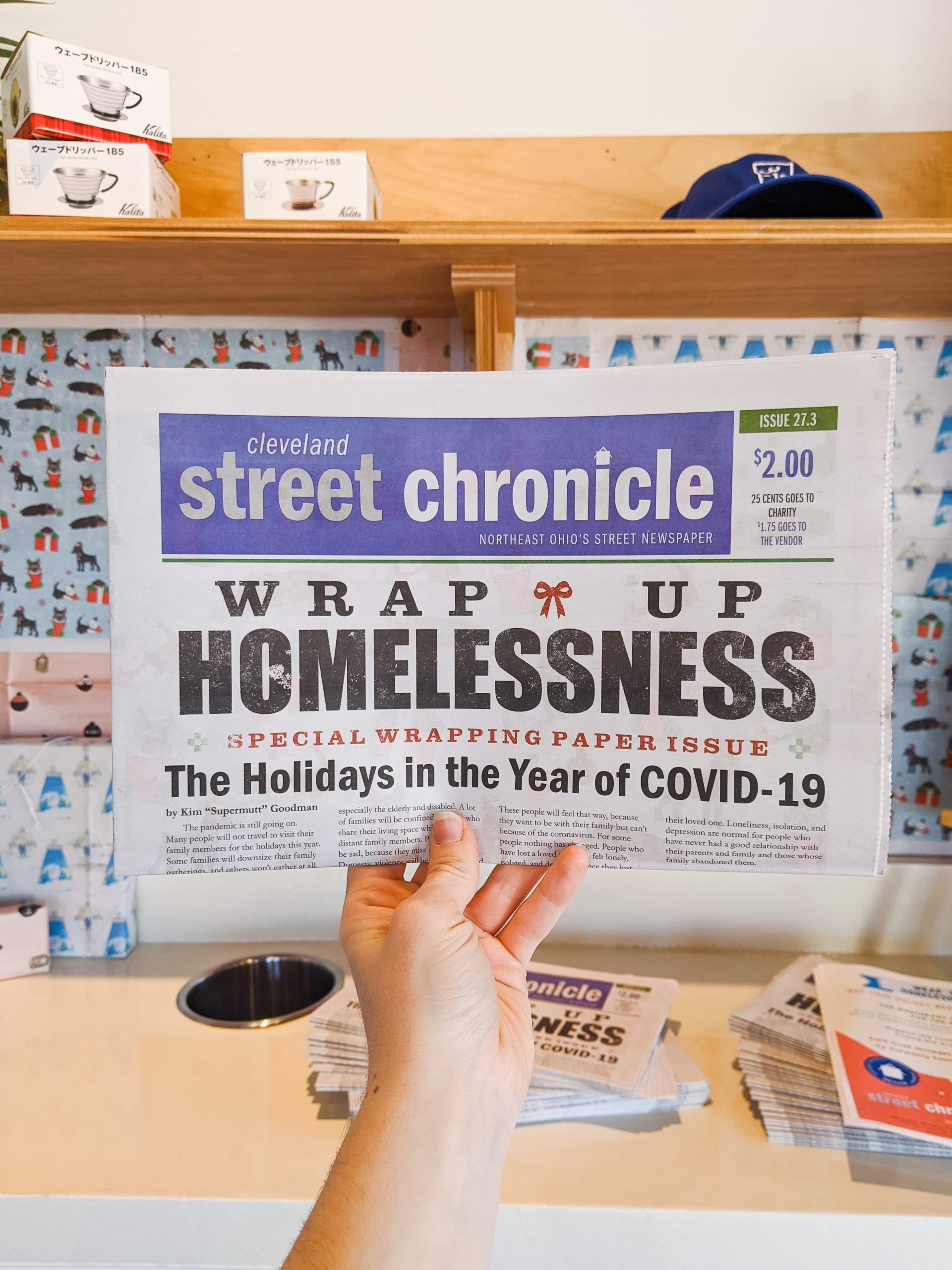 3-19 and NEO Coalition for the Homeless team up for the Holidays